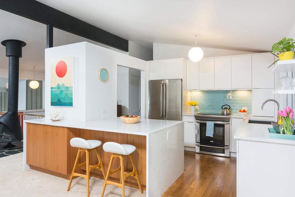 mid-century design kitchen remodel ann arbor mi