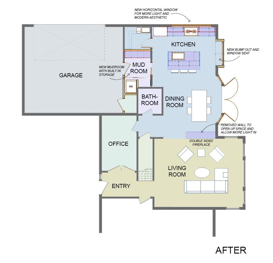 Redesigned Floor Plan