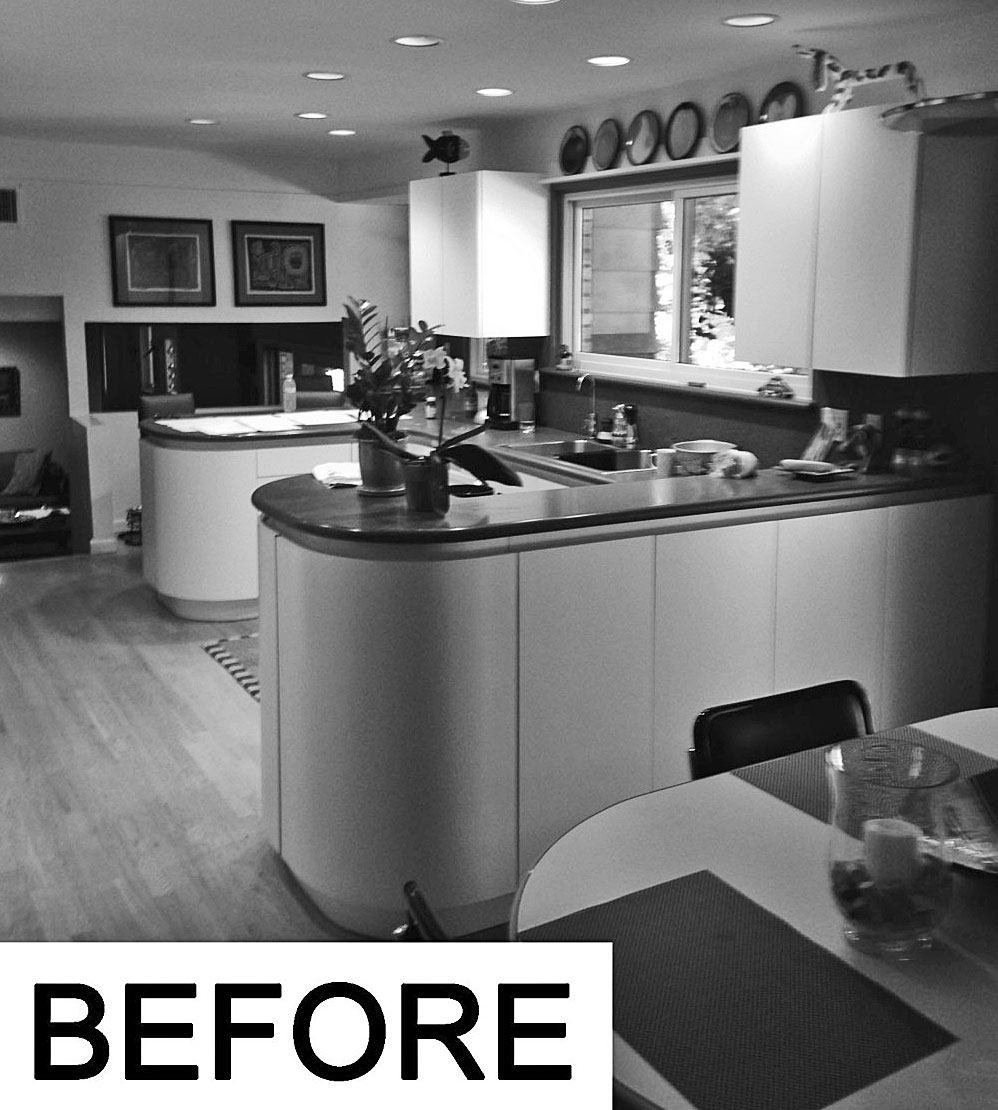 Before Kitchen Redesign