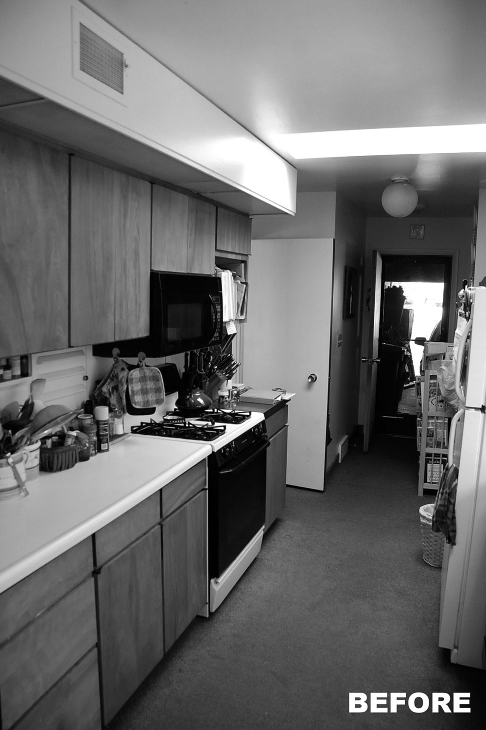 Kitchen Before Design and Construction