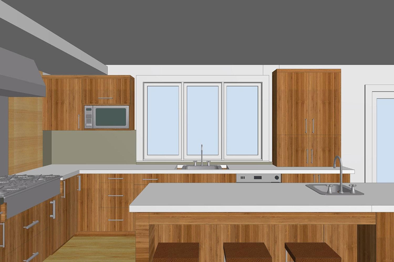 Illustration of Kitchen Design