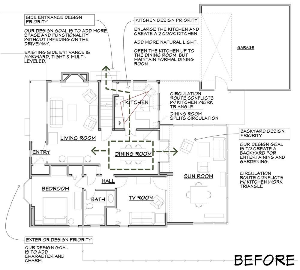 Pre-Construction Floor Plan
