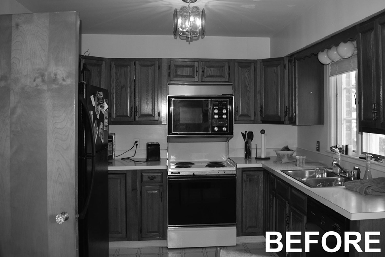 Kitchen Remodel Before Image