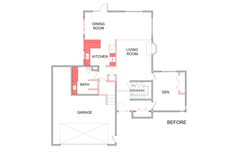 Floor Plan Before Design