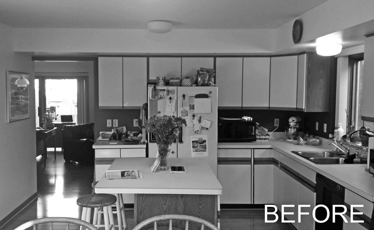 Kitchen Remodel Before Construction