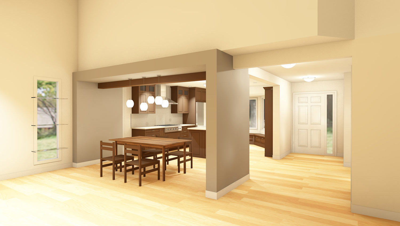 Redesigned Kitchen Illustration