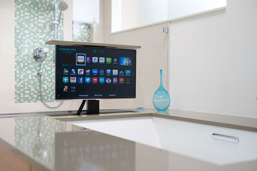 Tips on adding a television to your master suite