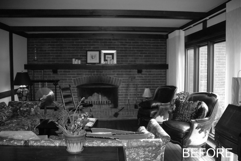 Pre-Existing Living Room