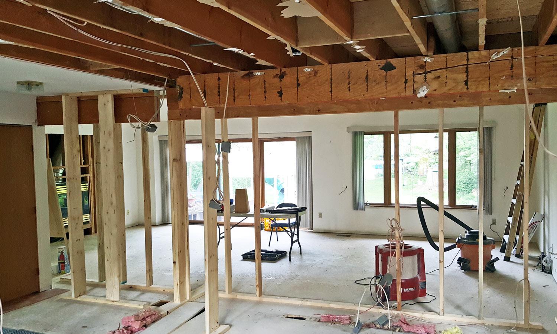 Home Remodeler Dust Removal Demolition