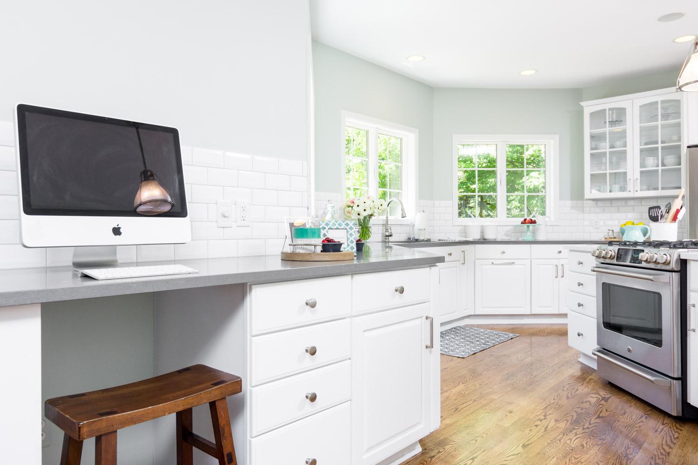 Custom Kitchen with Computer Desk Ann Arbor Mi.jpg