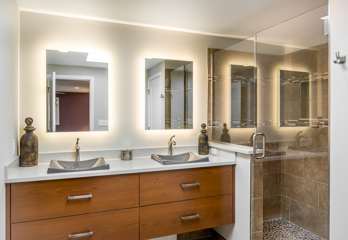 Selecting A Master Suite Bathroom Vanity With Your Home Designer Forward Design Build Remodel