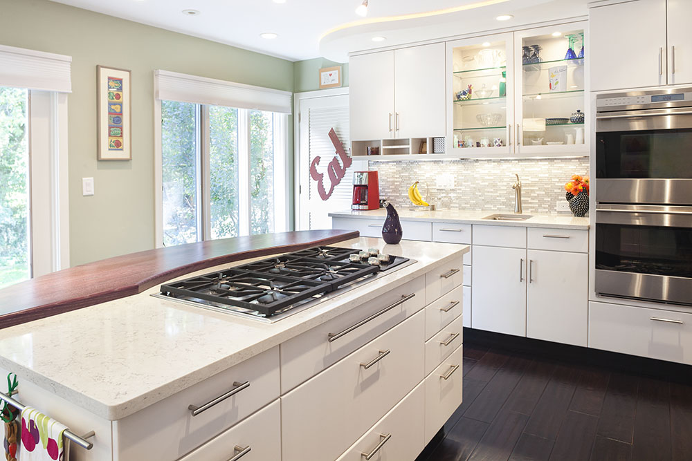 Wall oven and cooktop combination - Ann Arbor, MI Remodeling