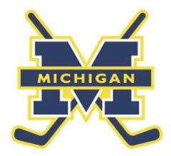 Michigan Womens Hockey Logo
