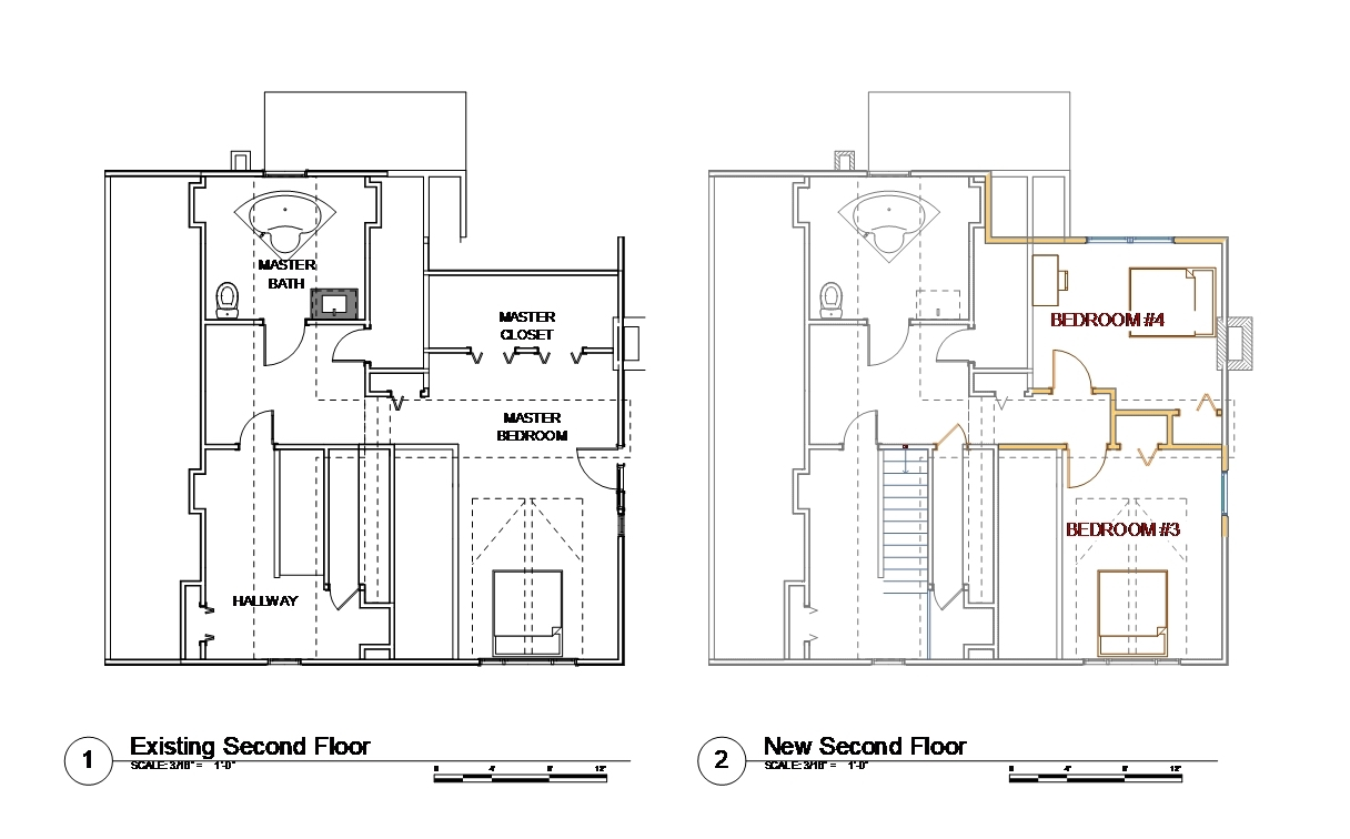 Plans - second floor