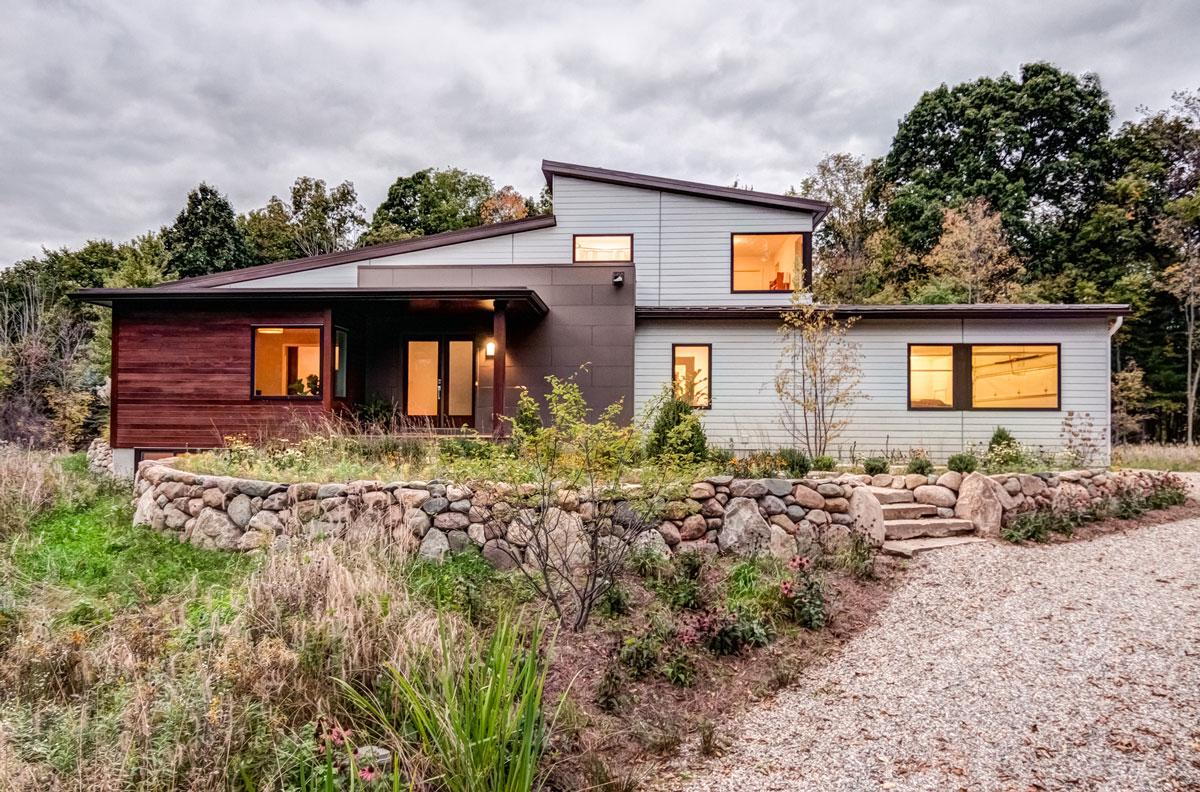 Custom home building - exterior design, Ann Arbor MI