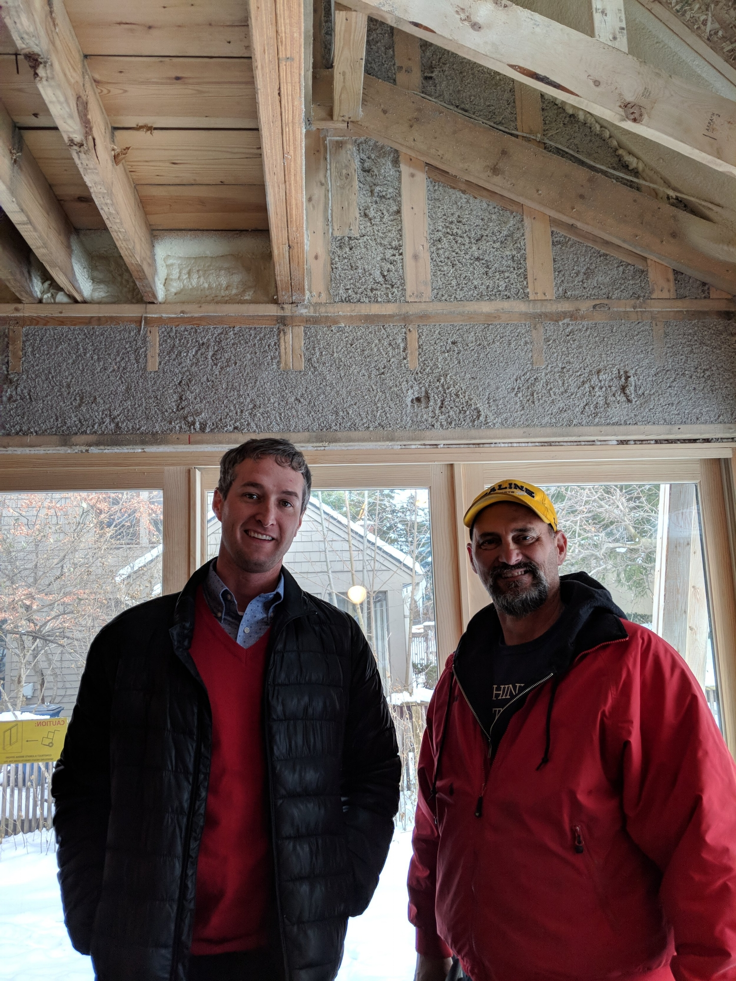 Project Coordinator Chad and Project Manager Rob Walker