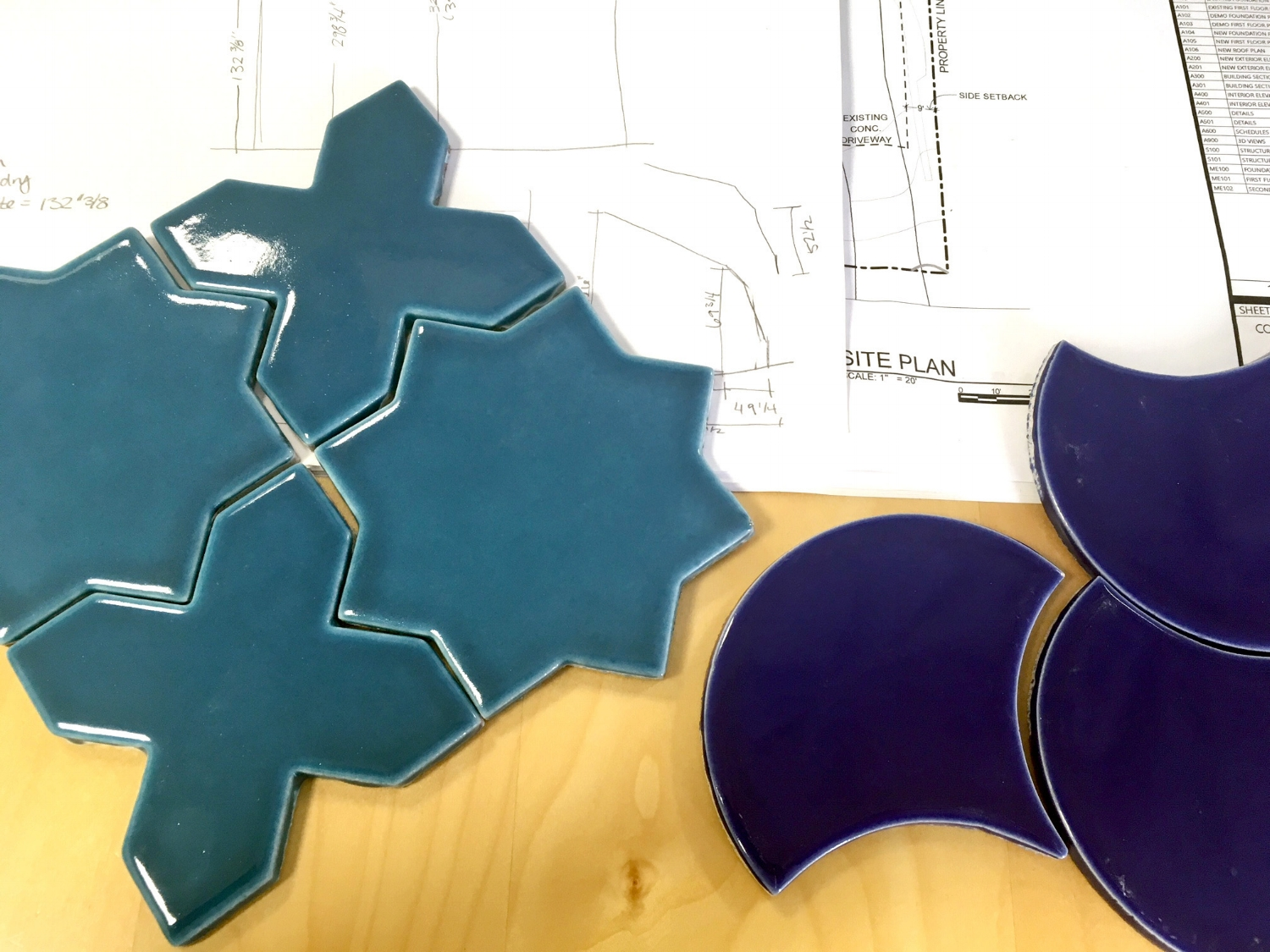 Fireclay Tile selections for the whole house remodel