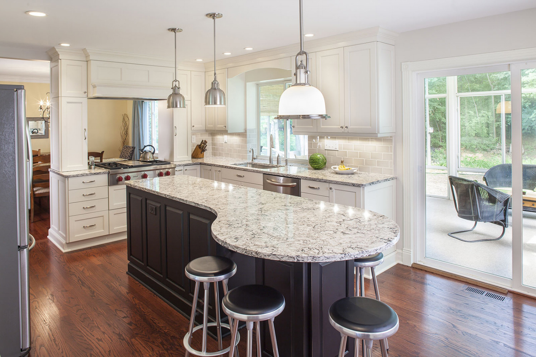 Contemporary Wood Floor Kitchen - Forward Design Build Remodel