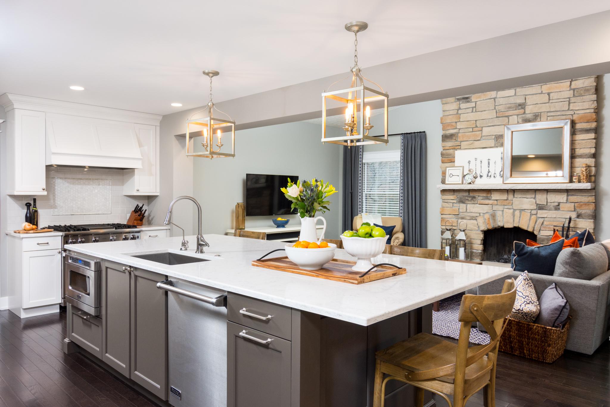 #10 3928 Warren Ct. Ann Arbor   Open Concept Kitchen Remodel