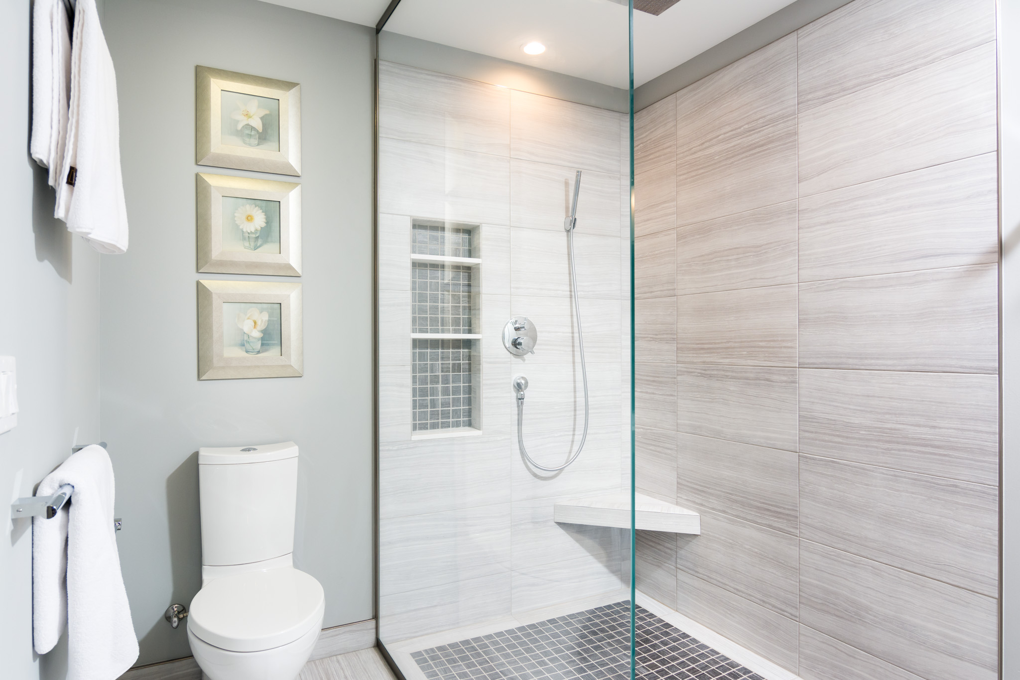 Advice On Master Bath Remodeling With A Doorless Shower Design Forward Build Remodel