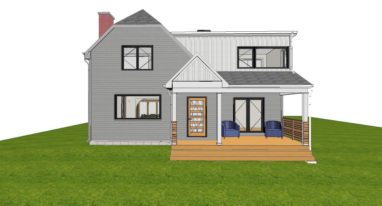 Exterior Design Rendering