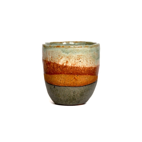 Territory | Rust and Turquoise Tea Cup #2 $38