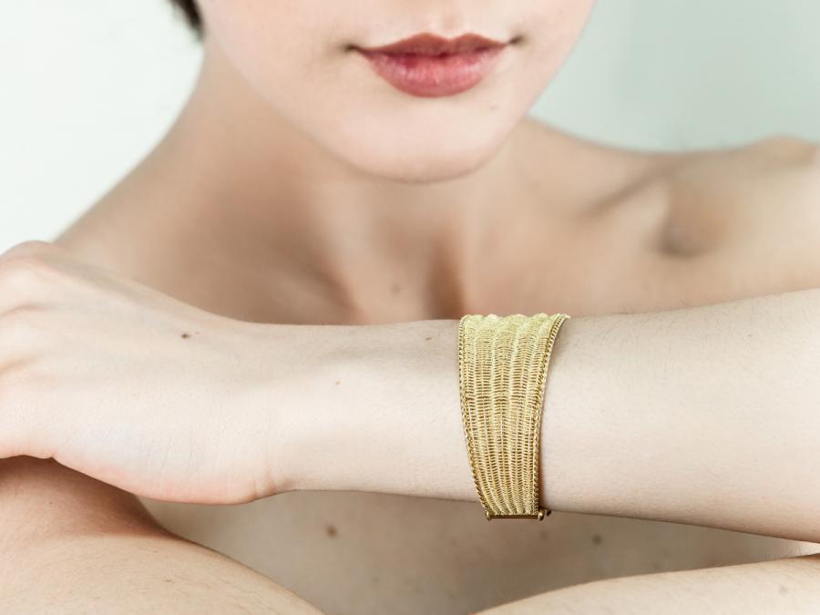 Tessuto Tre bracelet