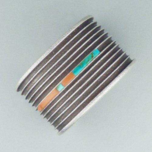 Darryl Begay - Cast Sterling Silver Bracelet $1350