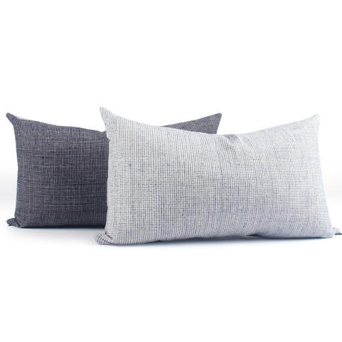 Hatched Homespun Pillow