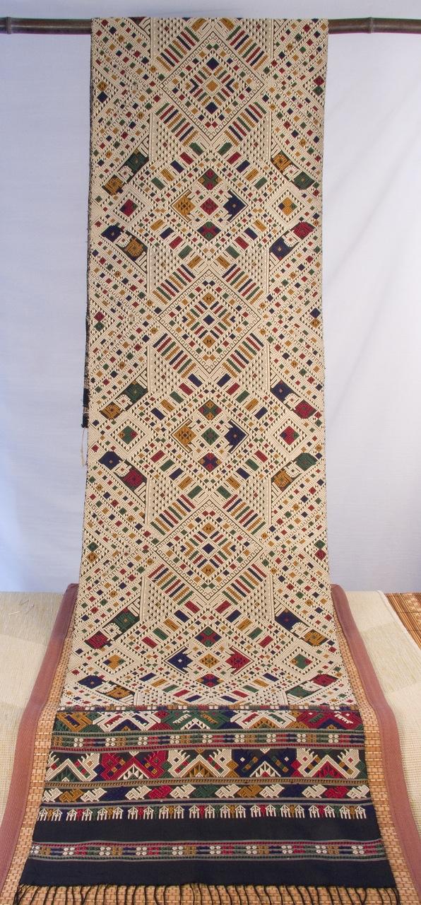 Sam Neua Silk Tapestry Wall Hanging