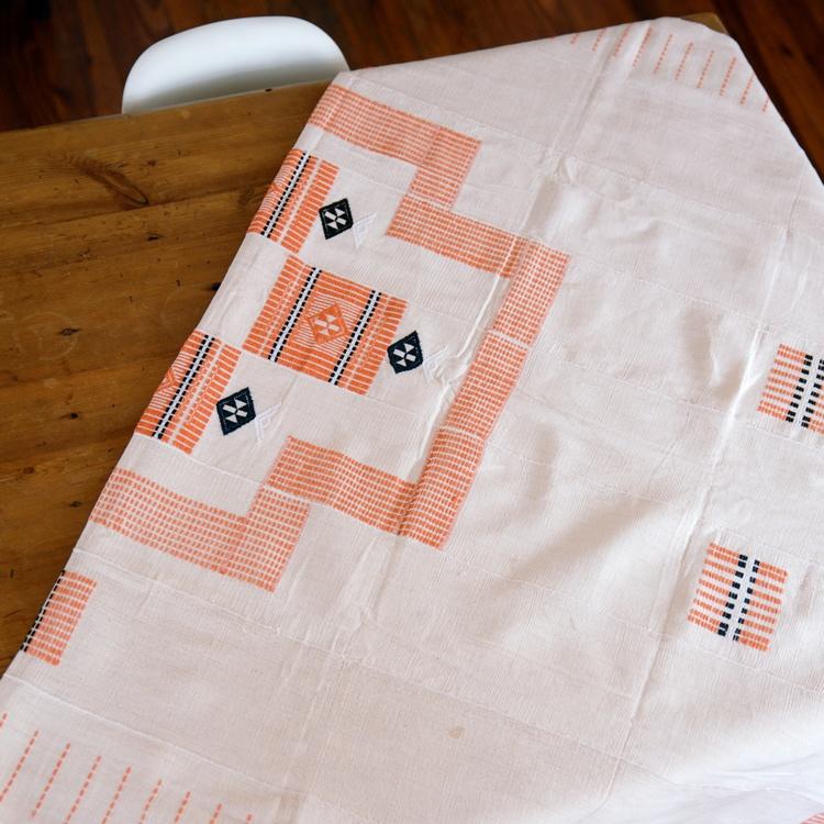 Peche Korhogo Table Cloth