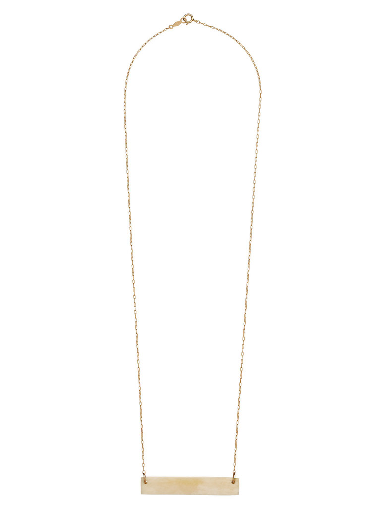 Bone Bar Necklace