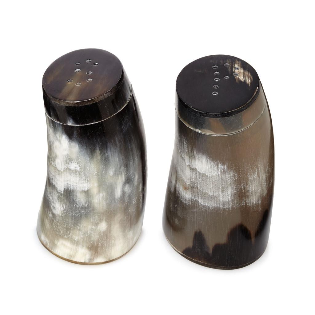 Horn Salt and Pepper Shakers