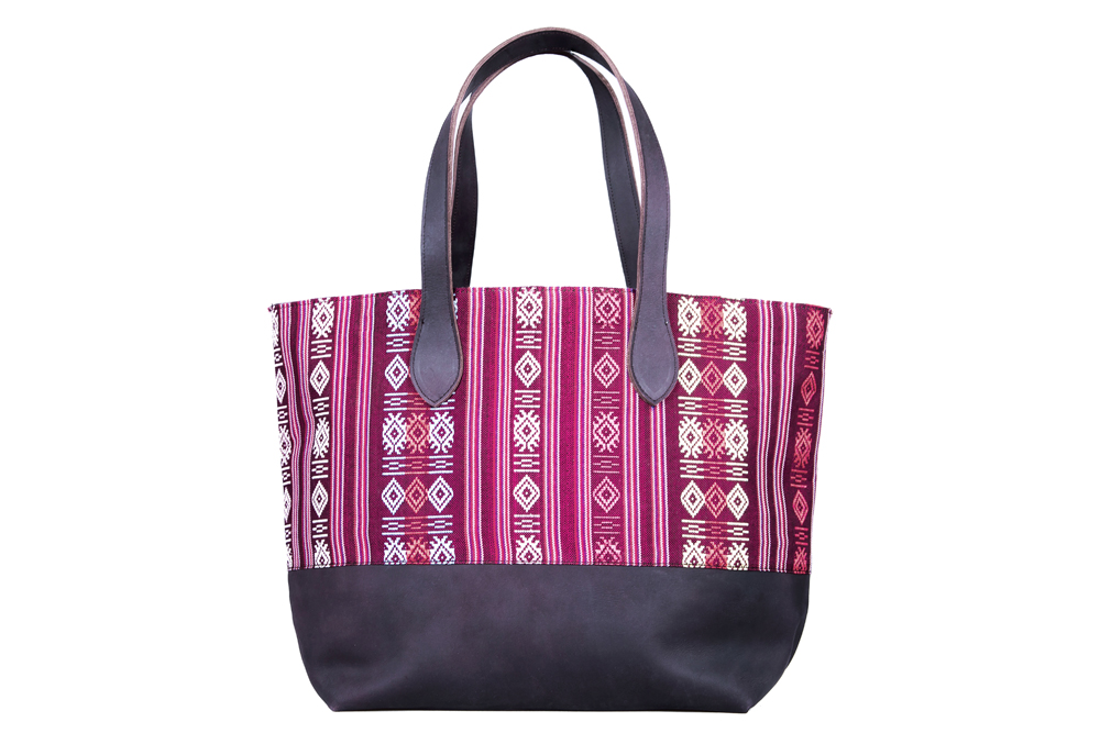 Cham Tote - Red Weave