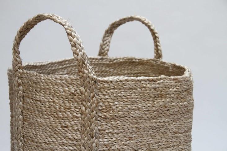 Natural Jute Basket