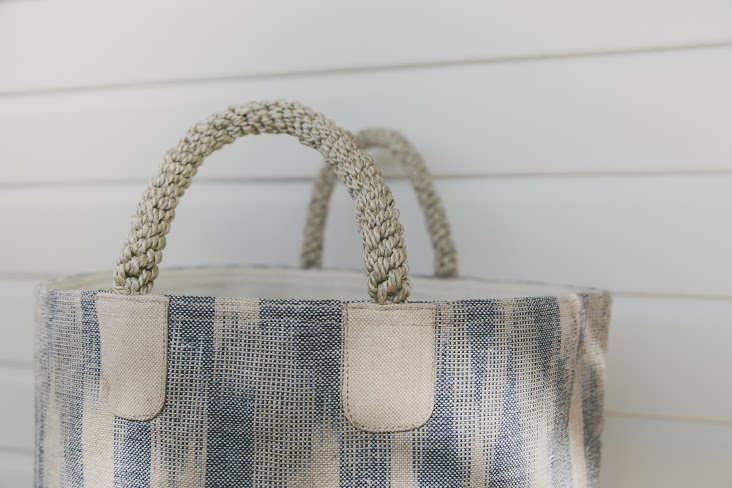 Pacific Ikat Tote
