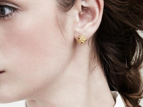 Mora Ruby Earring