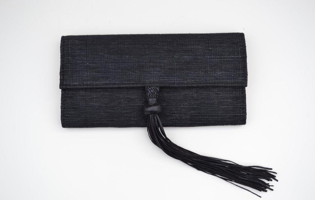 Ima Clutch Front Tassel