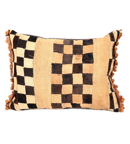 Checker Kuba Pillow