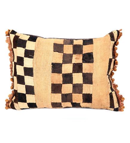 Checker Kuba Pillow