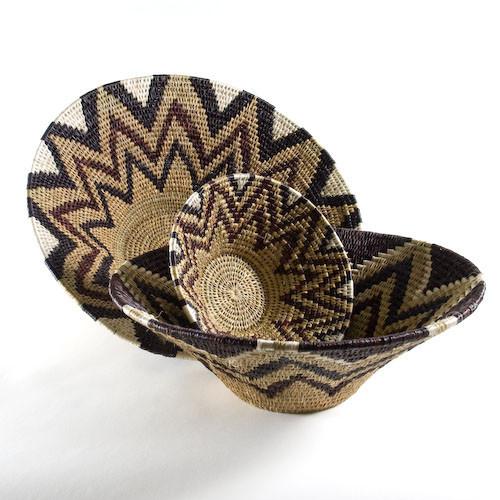 African Grass Baskets by Gone Rural