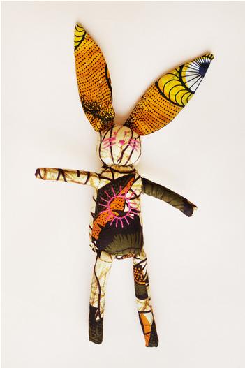 Indego Africa Sun bunny artisan handmade Rwanda