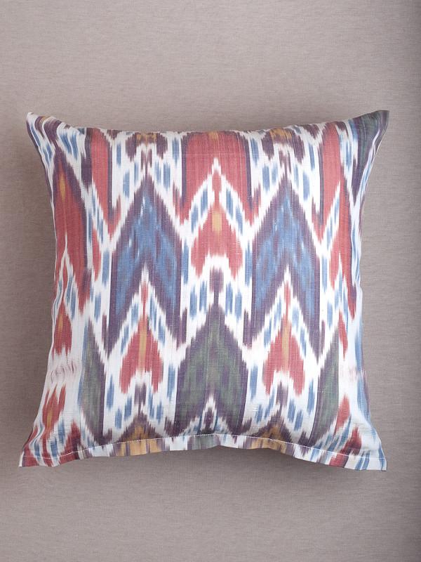 Multi Ikat Arrow Pillow