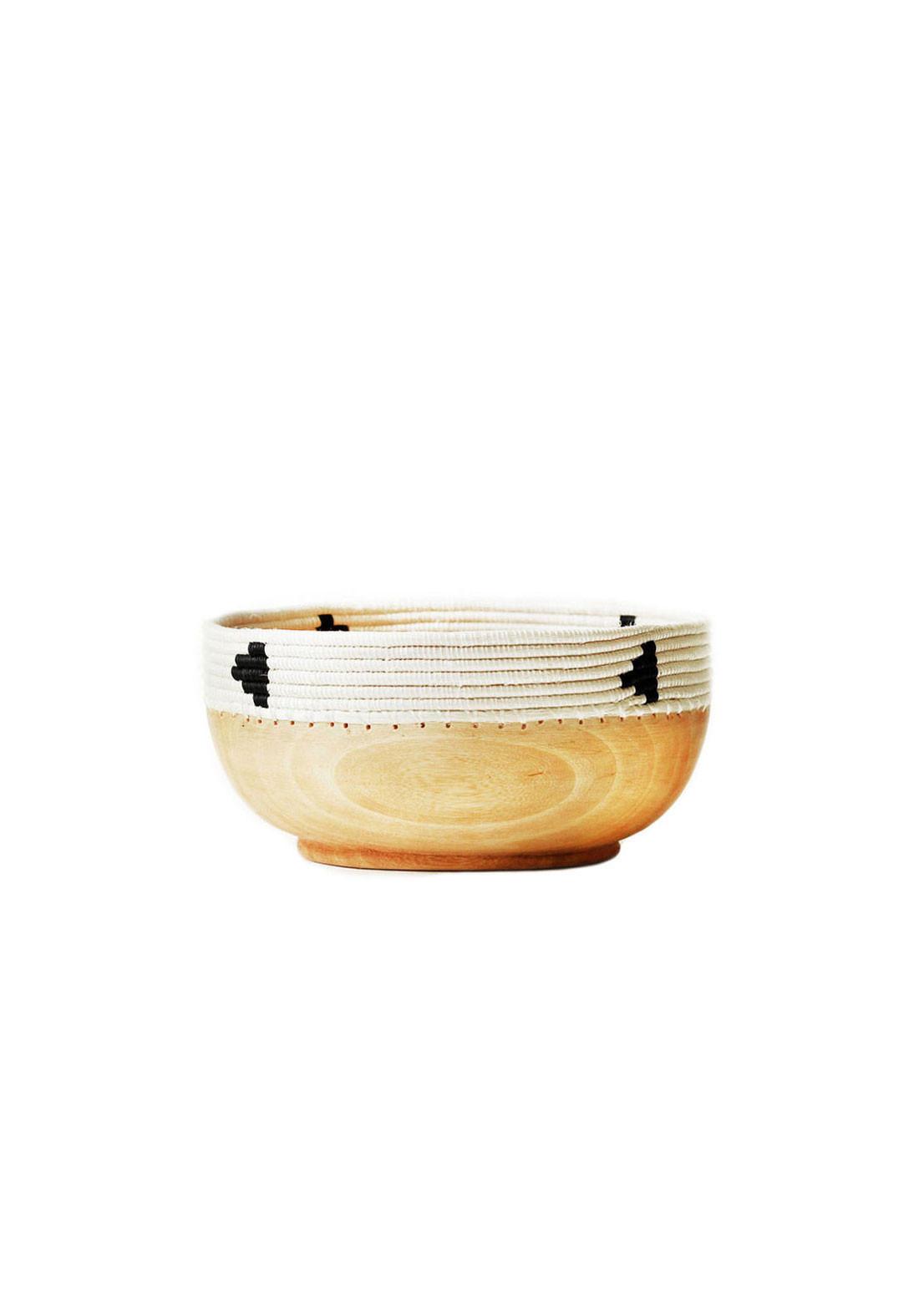 Triangle Copabu Wooden Bowl