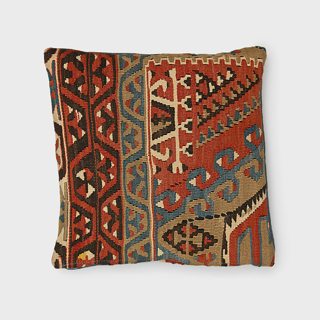 Teal Kilim Pillow