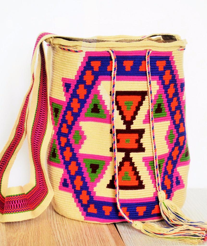 Beige Macuira Mochila Bag