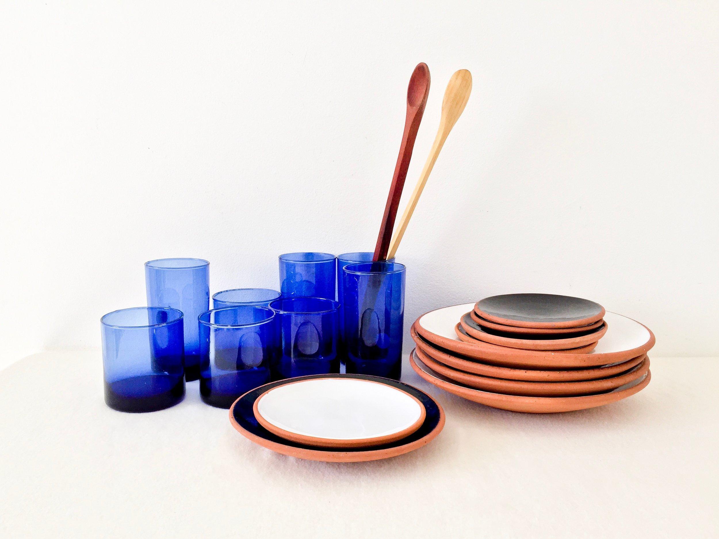 trasto colombian glassware red clay ceramics nazareno spoons.JPG