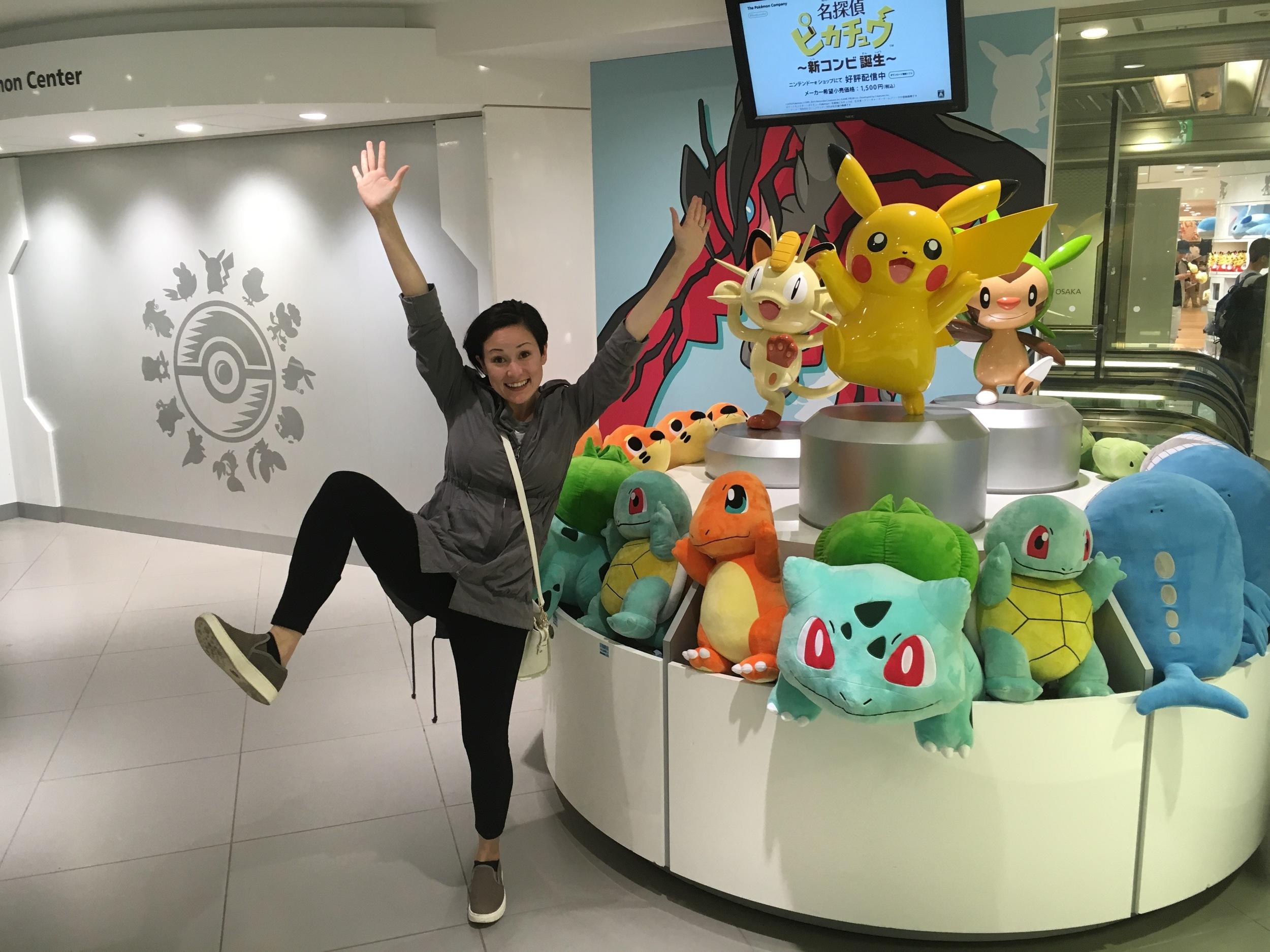 Acting like a Pikachu...