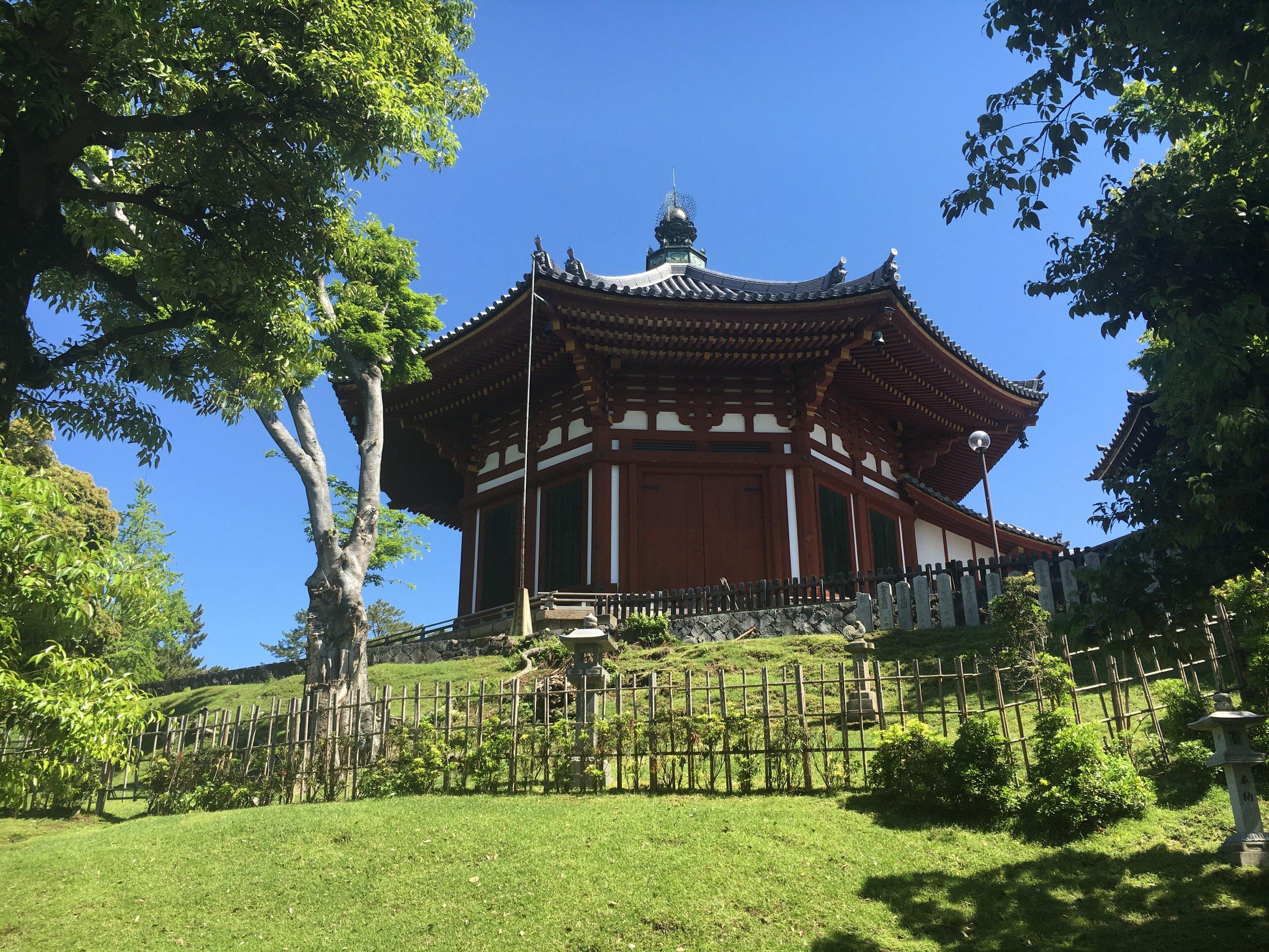 Nanendo Buddhist Temple, simply stunning!
