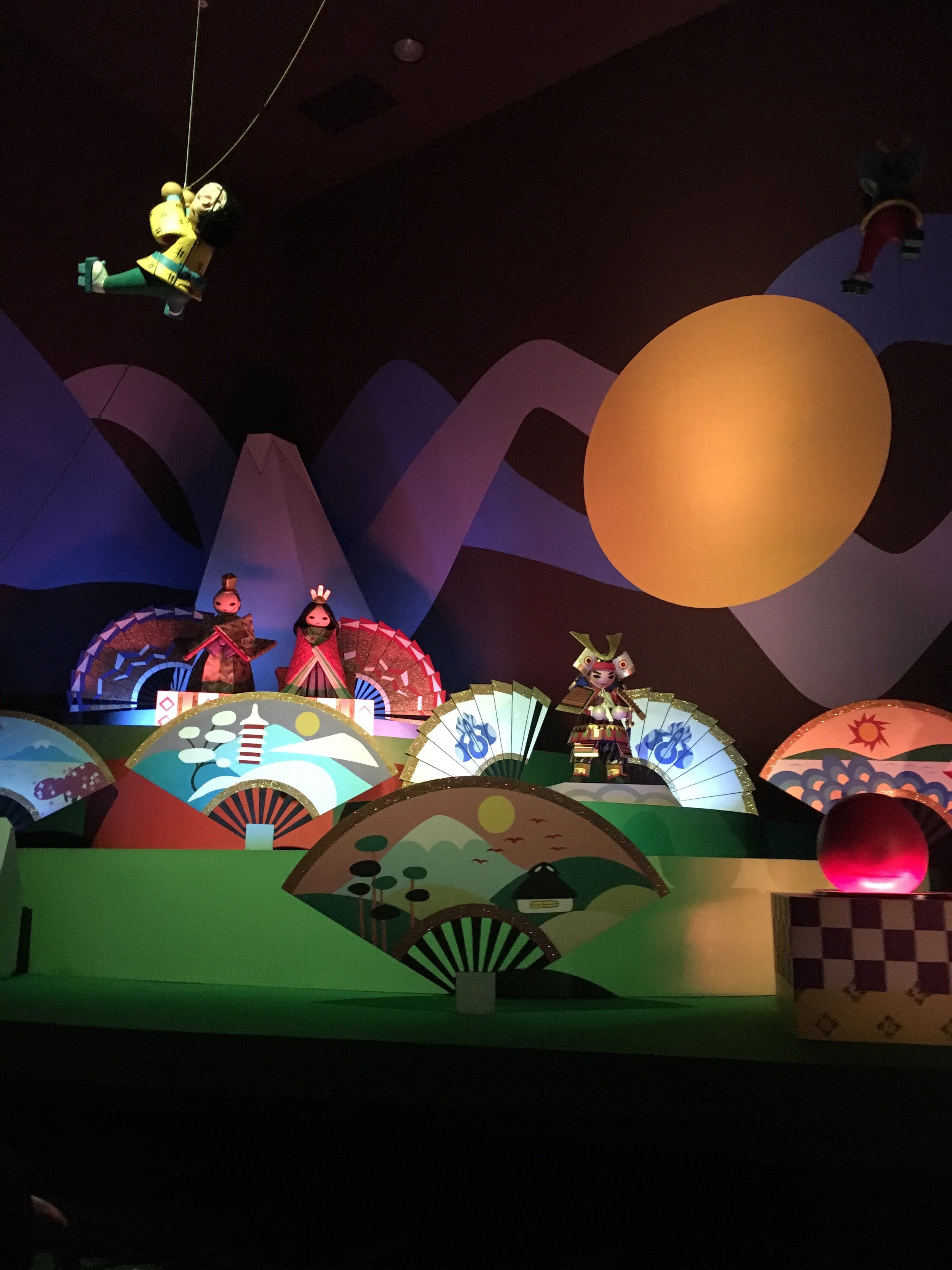 """The Japan part of """"It's a Small World!"""""""